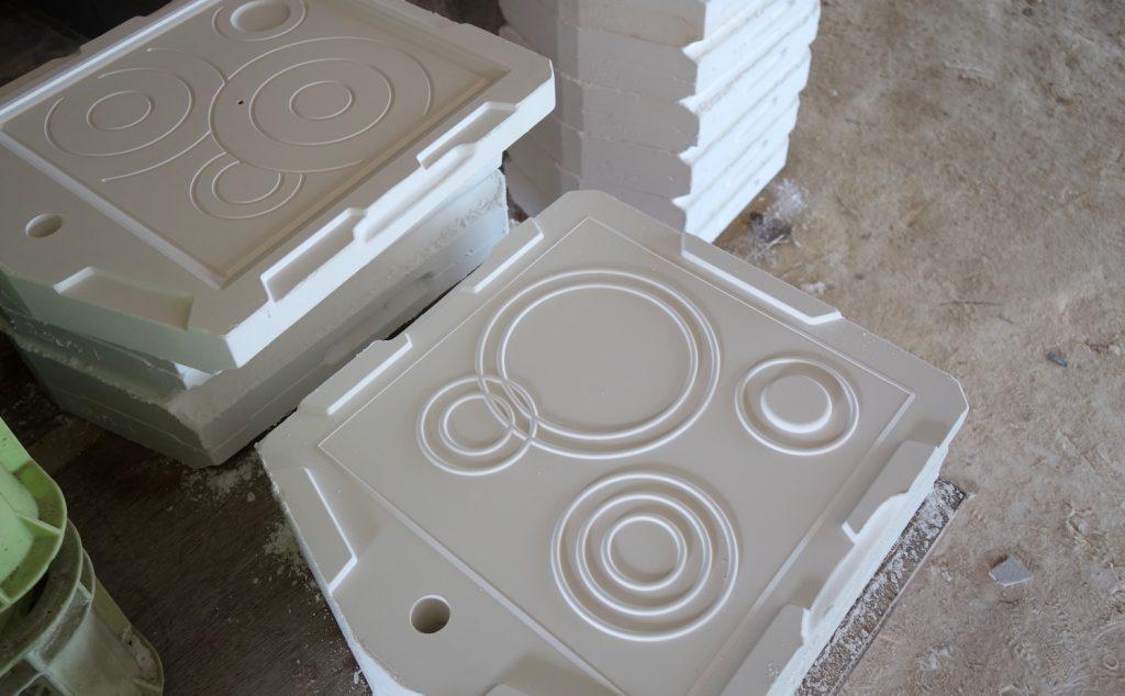 Hamon 石膏型